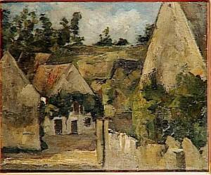 Carrefour de la rue Rémy par Cézanne