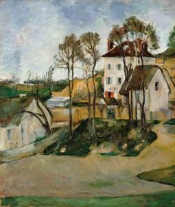 La maison Gachet par Cézanne